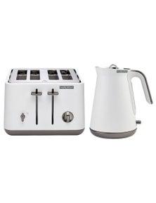 Morphy Richards 1.5 Aspect Kettle/4 Slice Aspect Toaster