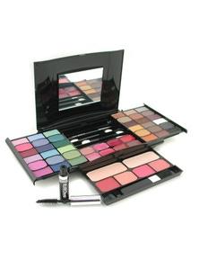 Cameleon MakeUp Kit G2327 (2x Powder, 36x Eyeshadows, 4x Blusher, 1xMascara, 1xEye Pencil, 8x Lip Gloss, 4x Applicators)