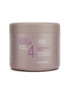AlfaParf Lisse Design Keratin Therapy Rehydrating Mask (Salon Size)
