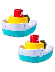 BB Junior Splash N Play Spraying Tugboat 2PK