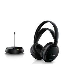 Philips SHC5200 Wireless Fm Headphones Rechargeable Battery