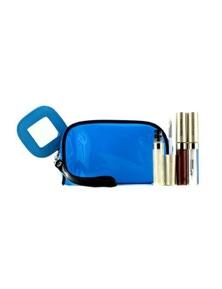 Kanebo Lip Gloss Set With Blue Cosmetic Bag (3xMode Gloss, 1xCosmetic Bag)