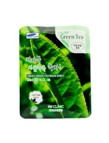 3W Clinic Mask Sheet - Fresh Green Tea