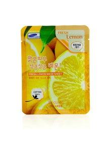 3W Clinic Mask Sheet - Fresh Lemon