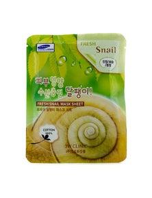 3W Clinic Mask Sheet - Fresh Snail