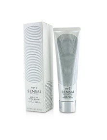 Kanebo Sensai Silky Purifying Mud Soap - Wash And Mask (New Packaging)