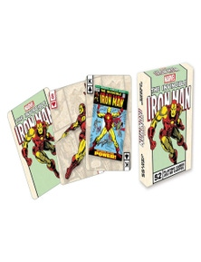 Marvel Iron Man Retro Playing Cards