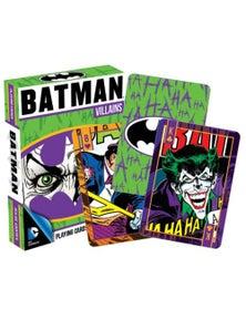 DC Comics Batman Villains Playing Cards