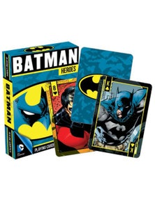 DC Comics Batman Heroes Playing Cards