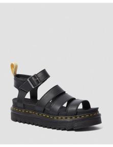 Dr. Martens Women's Vegan V Blaire Slide Sandals - Black