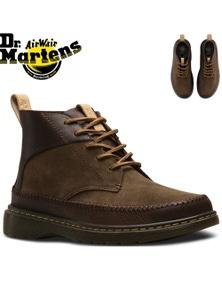 Dr. Martens Flloyd Men's 5 Eye Leather Chukka Boots Shoes - Dark Brown