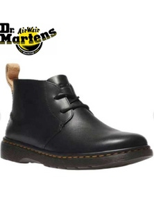Dr. Martens Ember Chukka Leather Boots Shoes - Black