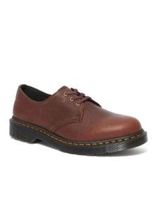 Dr. Martens Unisex 1461 Ambassador Leather 3 Eye Oxford Shoes - Cask