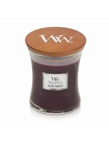 WoodWick Candle Medium 275g - Velvet Tabacco