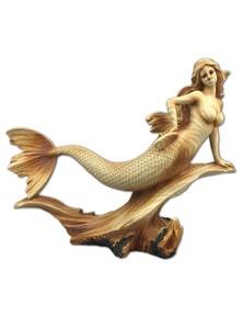 Seven Seas Mermaid Resin Plaque