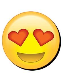 Eye Hearts Emoji Funky Chunky Magnet