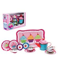 Schylling- Cupcake Tin Tea Set