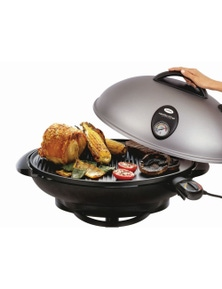 Sunbeam BBQ Outdoor Electric 2400w Oval Non Stick