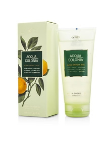 4711 Acqua Colonia Blood Orange And Basil Aroma Shower Gel