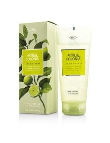4711 Acqua Colonia Lime And Nutmeg Aroma Shower Gel