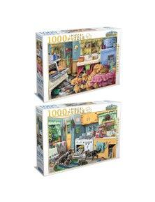 Tilbury Puzzle - Doggone Good Pies/Doggone Good Cupcakes 2X 1000Pc