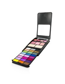 Cameleon MakeUp Kit G2210A (24x Eyeshadow, 2x Compact Powder, 3x Blusher, 4x Lipgloss)