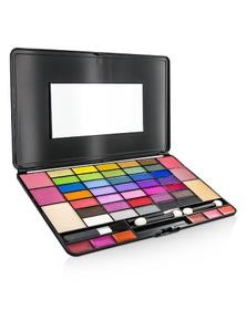 Cameleon Laptop Style MakeUp Kit 8075 (35x EyeShadow, 4x Blusher, 2x Powder Cake, 6x Lipgloss)