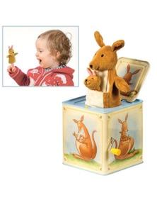 Schylling- Kangaroo Jack In Box