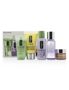 Clinique Daily Essentials Set - Dry Combination