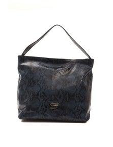 Pompei Donatella Blu Navy Shoulder Bag
