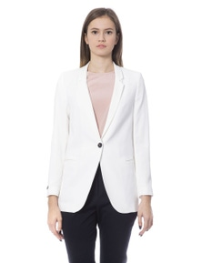 Peserico Bianco Jackets & Coat