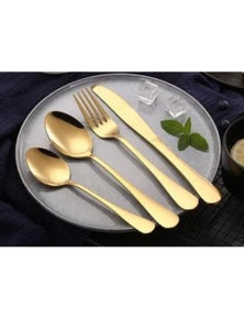 Cove Your Home Table Fork - Gold