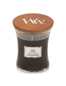 WoodWick Candle Medium 275g - Black Peppercorn