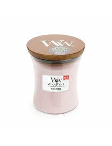 WoodWick Candle Medium 275g - Rosewood