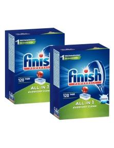 Finish Powerball All-in-1 Dishwashing TabletsOriginal 240PK