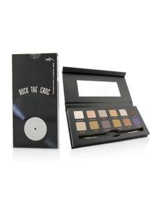 YBF Beauty Rock The Croc Eyeshadow Palette (12x Eyeshadow, 1x Double Ended Eyeshadow Brush)