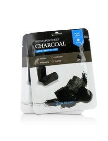 3W Clinic Mask Sheet - Charcoal
