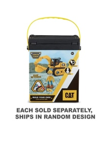 CAT Build Your Own Juniour Crew Dump Truck