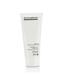 Academie Clay To Oil 2 in 1 Mask - For All Skin Types (Salon Size)