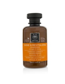Apivita Shine And Revitalizing Shampoo with Orange And Honey (For All Hair Types)