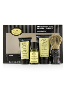 The Art Of Shaving The 4 Elements of the Perfect Shave Mid-Size Kit - Unscented