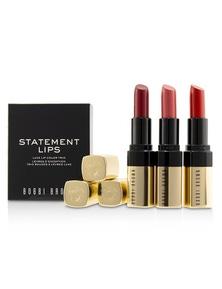 Bobbi Brown Luxe Lip Colour Trio - Retro Coral (#20), Retro Red (#26), Sunset Orange (#29)