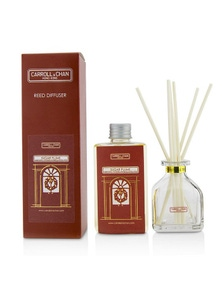 The Candle Company (Carroll & Chan) Reed Diffuser - Sugar Plums (Sugar Plum, Mandarin Orange And Candy Cane)