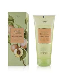 4711 Acqua Colonia White Peach And Coriander Aroma Shower Gel