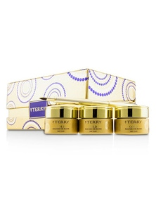 By Terry 24K Gold Baume De Rose Trio Deluxe Lip Balm Jewels (1x White Gold 10g, 1x Gold 10g, 1x Rose Gold 10g)