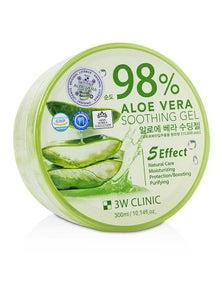 3W Clinic 98% Aloe Vera Soothing Gel