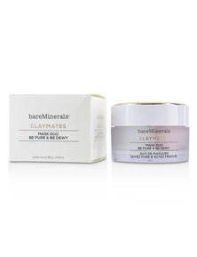 BareMinerals Claymates Be Pure And Be Dewy Mask Duo