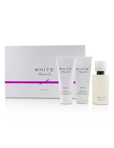 Kenneth Cole White Coffret: Eau De Parfum Spray 100ml/3.4oz + Body Lotion 100ml/3.4oz + Bath And Shower Gel 100ml/3.4oz