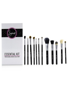 Sigma Beauty Essential Kit Professional Brush Collection - Black