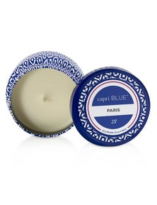 Capri Blue Printed Travel Tin Candle - Paris